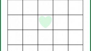 Baby Shower Bingo Template Blank Free