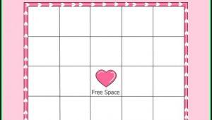 Baby Shower Bingo Template Download