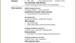 Basic Resume Template Australia