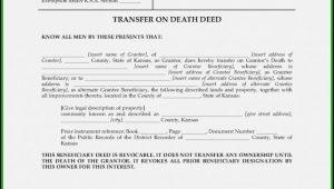Beneficiary Deed Form Missouri
