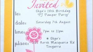 Birthday Invitation Card Template In Marathi