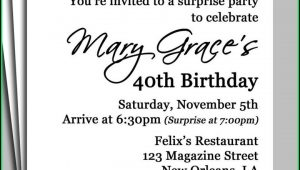 Birthday Invites Templates Word