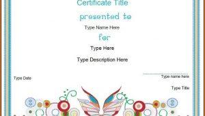Blank Certificate Template Design