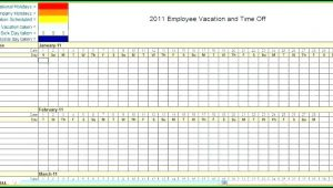 Blank Monthly Employee Schedule Template Excel