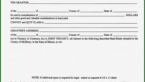 Blank Quit Claim Deed Form Nevada