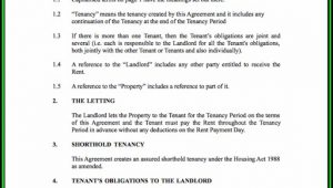 Blank Tenancy Agreement Form