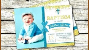 Boy Baptism Invitation Templates Free