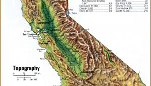 California Topo Map