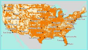 Cell Coverage Map Tucson