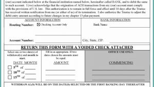 Chapter 13 Bankruptcy Forms Checklist