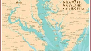 Chesapeake Bay Maps For Sale