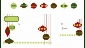 Christmas Shipping Label Template Free