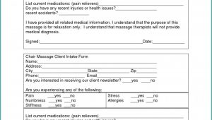 Client Intake Form Career Counseling