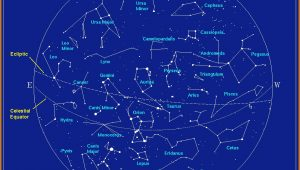 Constellations Map Northern Hemisphere