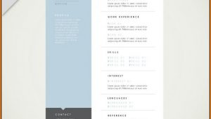 Contemporary Resume Templates Free Download