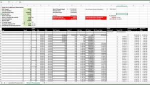 Contract Management Tracking Spreadsheet Template