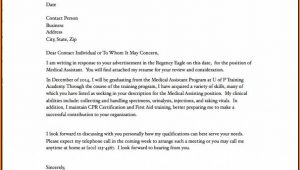 Cover Letter For Medical Billing And Coding With No Experience
