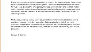 Cover Letter For Truck Driver Job