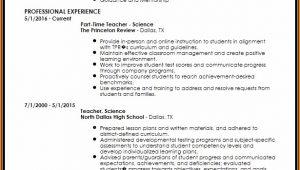 Creative Teacher Resume Templates Free