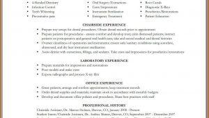 Dental Assistant Resume Templates