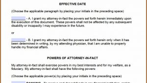 Durable Power Of Attorney Forms