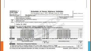 E File Form 2290 Irs