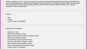 Eeo 1 Self Identification Form 2017
