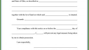 Free 3 Day Eviction Notice Florida Form