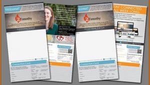 Free Church Bulletin Templates Indesign