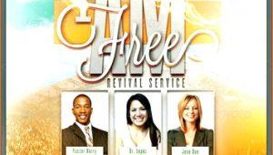 Free Church Flyer Templates Revivals