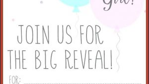 Free Gender Reveal Invitation Maker
