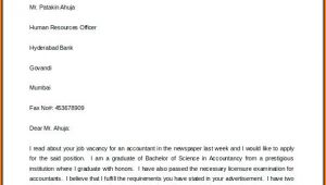 Free Printable Cover Letter