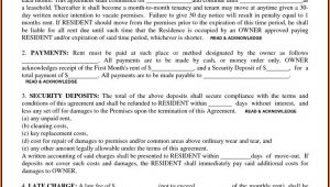 Free Residential Lease Agreement Forms To Print