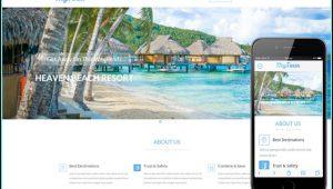 Free Responsive Tourism Website Templates