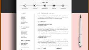 Free Resume And Cover Letter Templates For Word