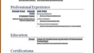 Free Resume Samples Printable