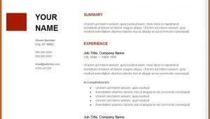 Free Resume Templates Google Docs