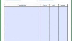 Free Service Invoice Template Pdf