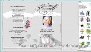 Free Template For Obituary Program