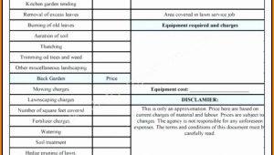 Free Tree Service Estimate Forms