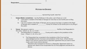 Free Uncontested Divorce Forms In Ga