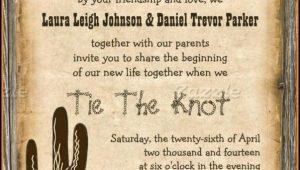 Free Western Birthday Invitation Templates