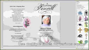 Funeral Program Template Microsoft Word Free Download