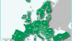 Garmin European Map Coverage