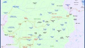 Google Maps Of Yosemite National Park