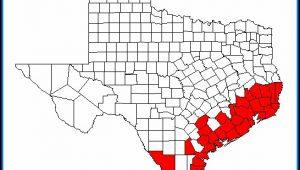 Great Texas Birding Trail Map