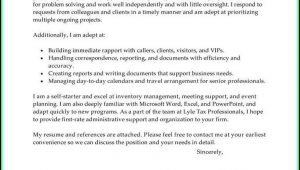 How To Write A Cover Letter For My Resume