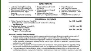 Human Resources Resume Templates Free