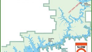 Lake Powell Hiking Map