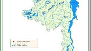 Lake St Clair Fishing Hot Spots Map